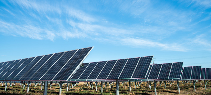 La energía solar aprovecha la energía que proviene del sol
